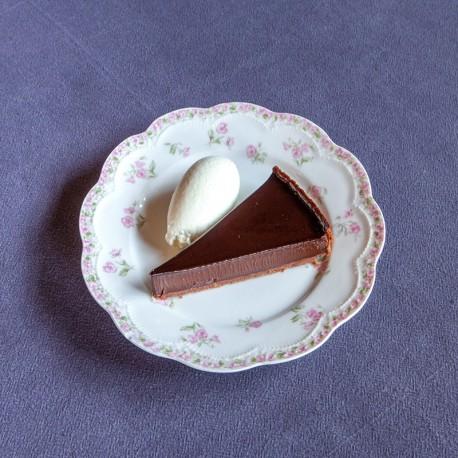 Fabuleuse tarte au chocolat de Christian Constant